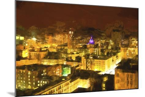 San Francisco Night-Philippe Hugonnard-Mounted Giclee Print