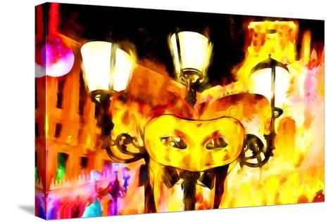 Party in Vegas - In the Style of Oil Painting-Philippe Hugonnard-Stretched Canvas Print