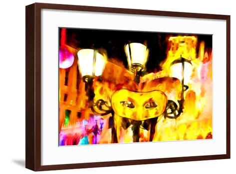 Party in Vegas - In the Style of Oil Painting-Philippe Hugonnard-Framed Art Print