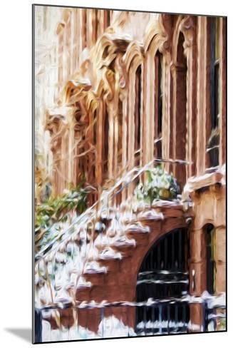 Harlem Building - In the Style of Oil Painting-Philippe Hugonnard-Mounted Giclee Print