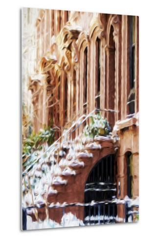Harlem Building - In the Style of Oil Painting-Philippe Hugonnard-Metal Print