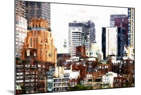 New York Architecture-Philippe Hugonnard-Mounted Giclee Print