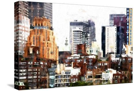 New York Architecture-Philippe Hugonnard-Stretched Canvas Print