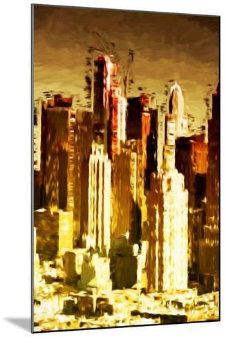 Skyscrapers Collection - In the Style of Oil Painting-Philippe Hugonnard-Mounted Giclee Print