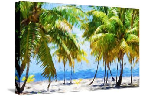Coastline II - In the Style of Oil Painting-Philippe Hugonnard-Stretched Canvas Print