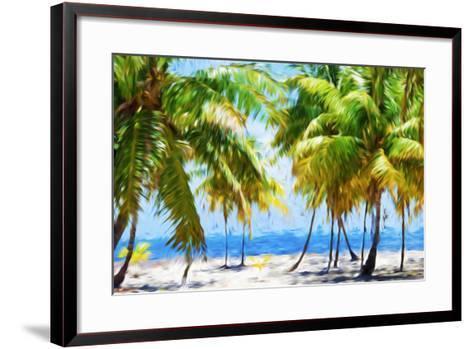 Coastline II - In the Style of Oil Painting-Philippe Hugonnard-Framed Art Print