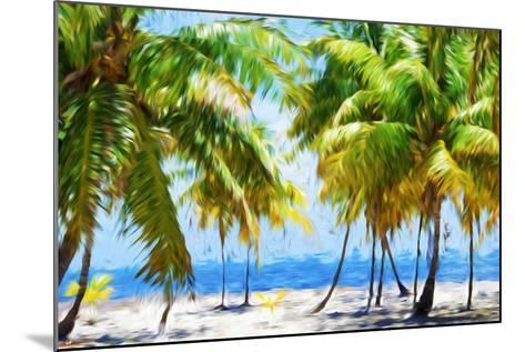 Coastline II - In the Style of Oil Painting-Philippe Hugonnard-Mounted Giclee Print