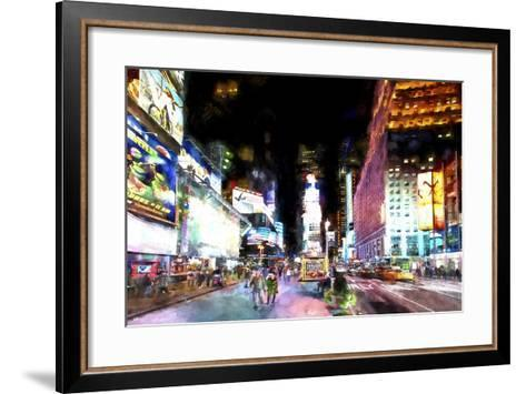 Times Square NYC-Philippe Hugonnard-Framed Art Print