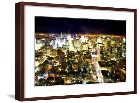 NYC Bright Light-Philippe Hugonnard-Framed Art Print