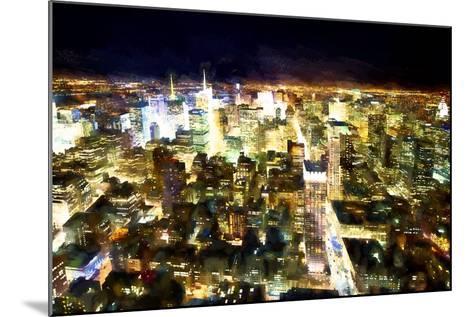 NYC Bright Light-Philippe Hugonnard-Mounted Giclee Print