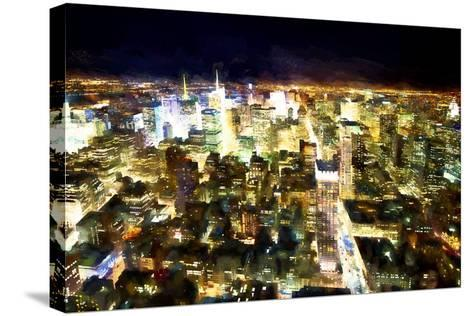 NYC Bright Light-Philippe Hugonnard-Stretched Canvas Print