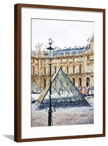 Small Pyramid - In the Style of Oil Painting-Philippe Hugonnard-Framed Art Print