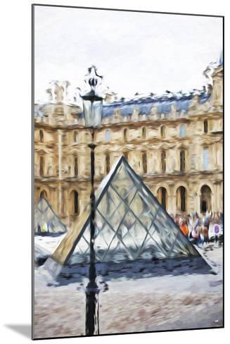 Small Pyramid - In the Style of Oil Painting-Philippe Hugonnard-Mounted Giclee Print