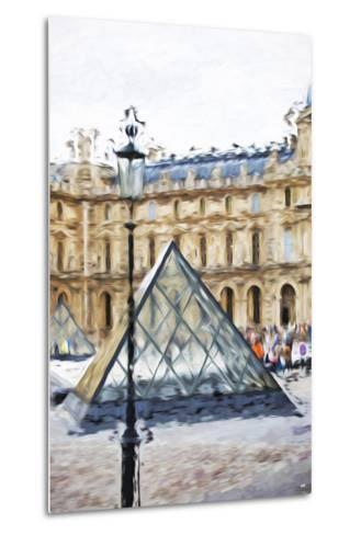 Small Pyramid - In the Style of Oil Painting-Philippe Hugonnard-Metal Print