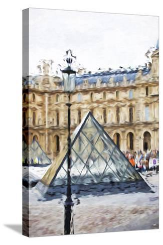 Small Pyramid - In the Style of Oil Painting-Philippe Hugonnard-Stretched Canvas Print