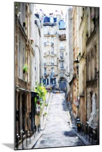 Street Windows - In the Style of Oil Painting-Philippe Hugonnard-Mounted Giclee Print