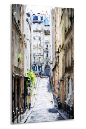 Street Windows - In the Style of Oil Painting-Philippe Hugonnard-Metal Print