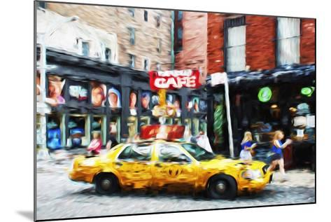 Street Scene II - In the Style of Oil Painting-Philippe Hugonnard-Mounted Giclee Print