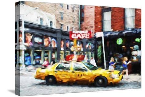 Street Scene II - In the Style of Oil Painting-Philippe Hugonnard-Stretched Canvas Print