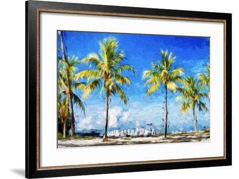 View Miami II - In the Style of Oil Painting-Philippe Hugonnard-Framed Art Print