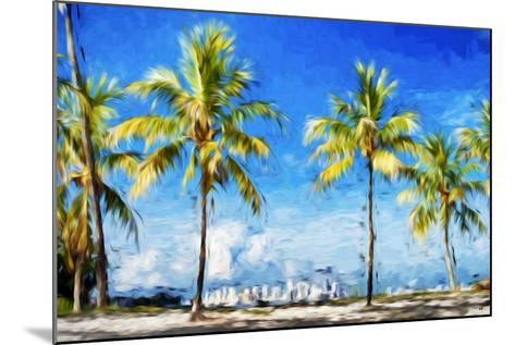 View Miami II - In the Style of Oil Painting-Philippe Hugonnard-Mounted Giclee Print