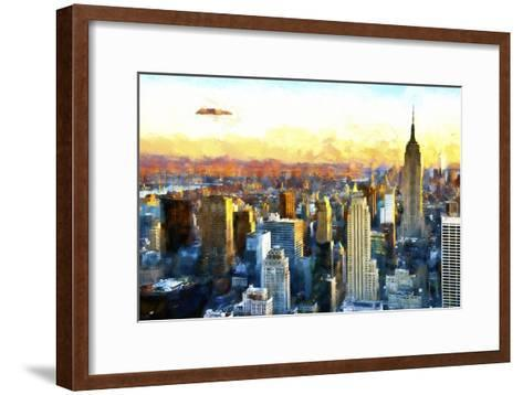 New York-Philippe Hugonnard-Framed Art Print