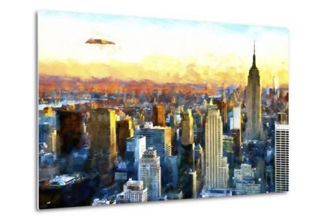 New York-Philippe Hugonnard-Metal Print