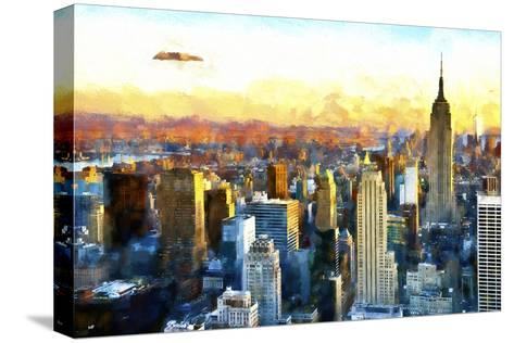 New York-Philippe Hugonnard-Stretched Canvas Print