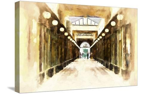 Royal Gallery-Philippe Hugonnard-Stretched Canvas Print
