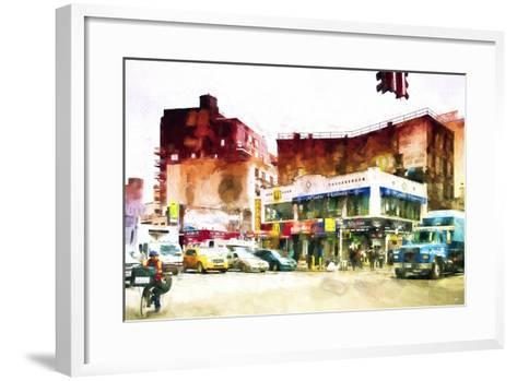 NYC Intersection-Philippe Hugonnard-Framed Art Print