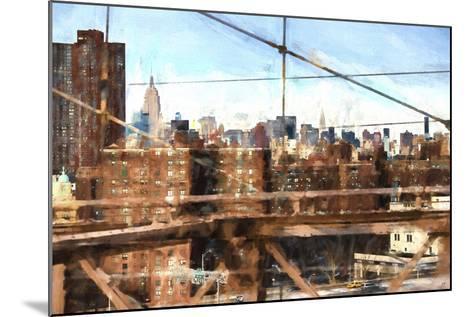 NY Skyline-Philippe Hugonnard-Mounted Giclee Print