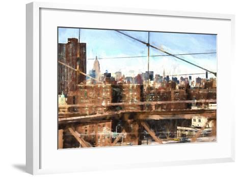 NY Skyline-Philippe Hugonnard-Framed Art Print