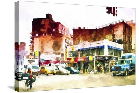 NYC Intersection-Philippe Hugonnard-Stretched Canvas Print