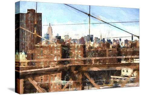 NY Skyline-Philippe Hugonnard-Stretched Canvas Print