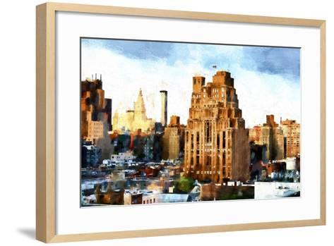 Chelsea Buildings II-Philippe Hugonnard-Framed Art Print