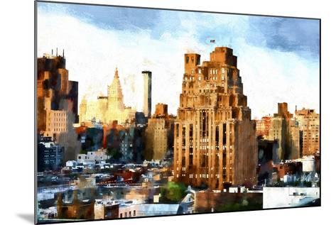 Chelsea Buildings II-Philippe Hugonnard-Mounted Giclee Print