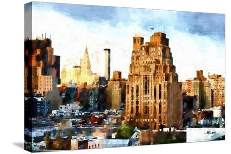 Chelsea Buildings II-Philippe Hugonnard-Stretched Canvas Print