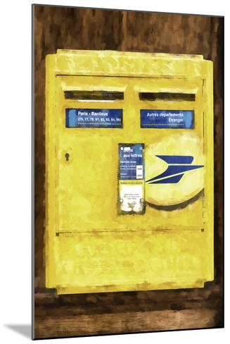 French Mailbox-Philippe Hugonnard-Mounted Giclee Print