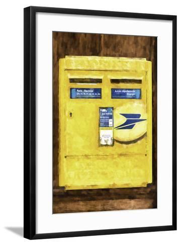 French Mailbox-Philippe Hugonnard-Framed Art Print