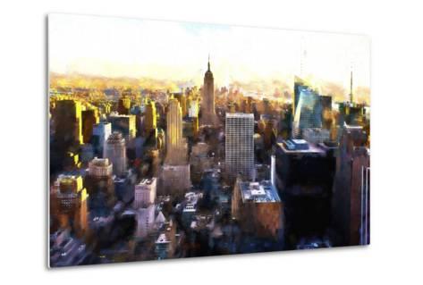 Manhattan Cityscape III-Philippe Hugonnard-Metal Print