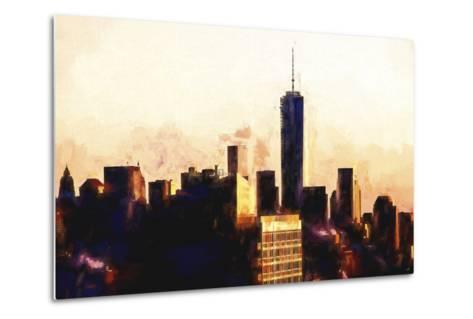 1WTC Sunset-Philippe Hugonnard-Metal Print