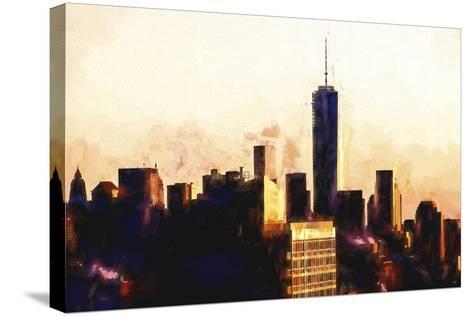 1WTC Sunset-Philippe Hugonnard-Stretched Canvas Print