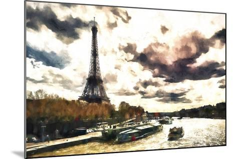 Paris Landscape-Philippe Hugonnard-Mounted Giclee Print