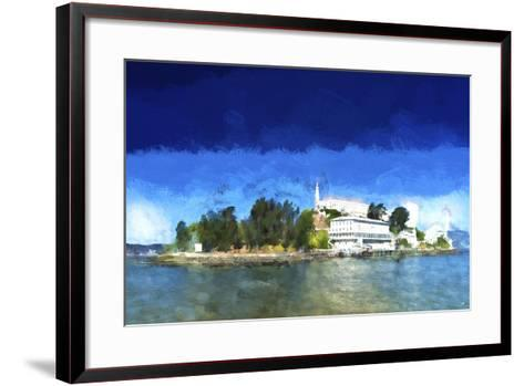 Alcatraz Island-Philippe Hugonnard-Framed Art Print