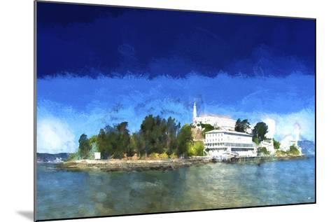 Alcatraz Island-Philippe Hugonnard-Mounted Giclee Print