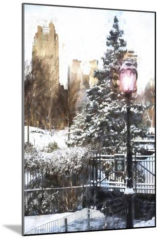 Central Park in Winter-Philippe Hugonnard-Mounted Giclee Print