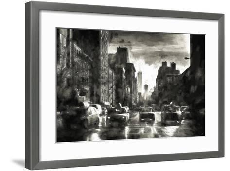 Four Taxis-Philippe Hugonnard-Framed Art Print