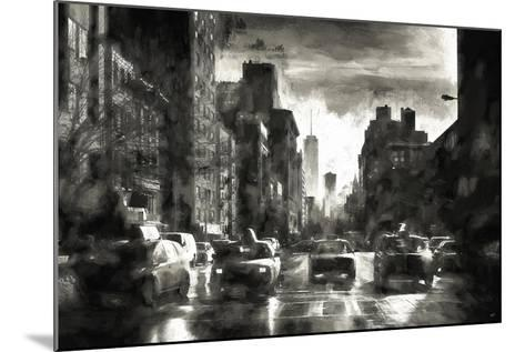Four Taxis-Philippe Hugonnard-Mounted Giclee Print