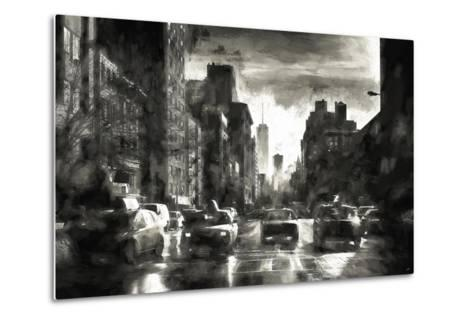 Four Taxis-Philippe Hugonnard-Metal Print