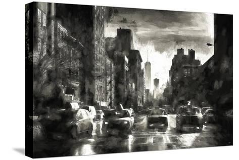 Four Taxis-Philippe Hugonnard-Stretched Canvas Print